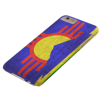 Vintage Grunge Flag of Roswell New Mexico Barely There iPhone 6 Plus Case