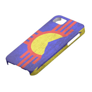 Vintage Grunge Flag of Roswell New Mexico iPhone SE/5/5s Case