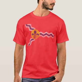 Vintage Grunge Flag of St Louis Missouri T-Shirt
