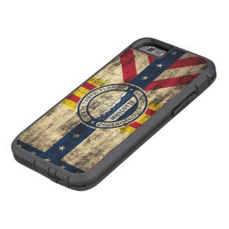 Vintage Grunge Flag of Tampa Florida Tough Xtreme iPhone 6 Case