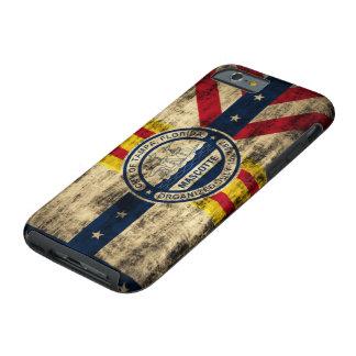 Vintage Grunge Flag of Tampa Florida Tough iPhone 6 Case