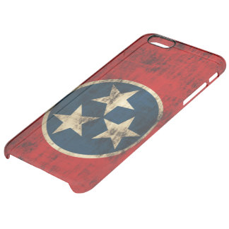 Vintage Grunge Flag of Tennessee Uncommon Clearly™ Deflector iPhone 6 Plus Case