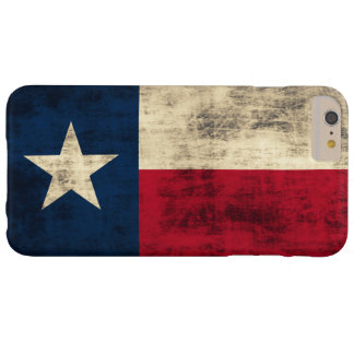 Vintage Grunge Flag of Texas Barely There iPhone 6 Plus Case