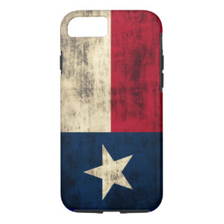 Vintage Grunge Flag of Texas iPhone 8/7 Case