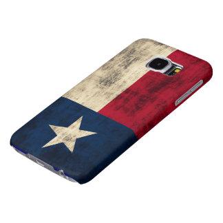 Vintage Grunge Flag of Texas Samsung Galaxy S6 Case