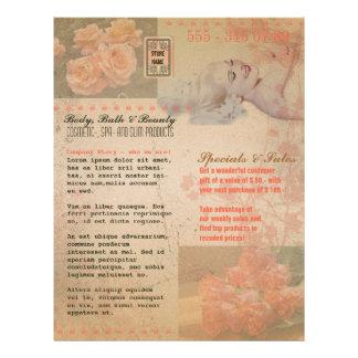 Vintage Grunge Flower - Flyer