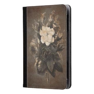 Vintage Grunge Flowers Kindle Case
