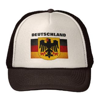 Vintage Grunge Germany Flag Deutschland Flag Trucker Hats