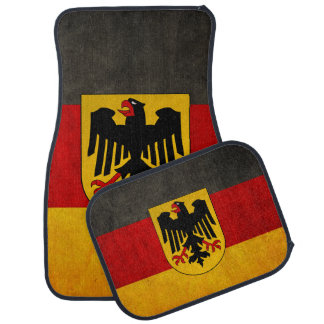 Vintage Grunge Germany Flag Deutschland Flag Floor Mat