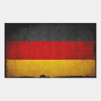 Vintage Grunge Germany Flag Stickers