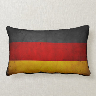 Vintage Grunge Germany Flag Throw Pillows