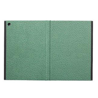 Vintage Grunge Green Leather Pattern iPad Air Case