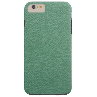 Vintage Grunge Green Leather Pattern Tough iPhone 6 Plus Case