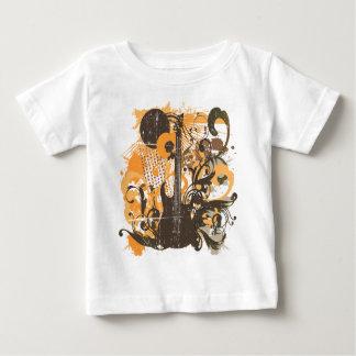 Vintage Grunge Guitar Baby T-Shirt