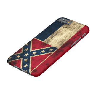 Vintage Grunge Mississippi Flag Barely There iPhone 6 Case