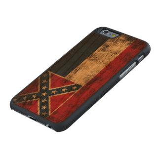 Vintage Grunge Mississippi Flag Carved Cherry iPhone 6 Case