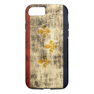 Vintage Grunge New Orleans Flag iPhone 7 Case