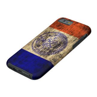 Vintage Grunge New York City Flag Tough iPhone 6 Case