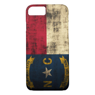 Vintage Grunge North Carolina Flag iPhone 8/7 Case