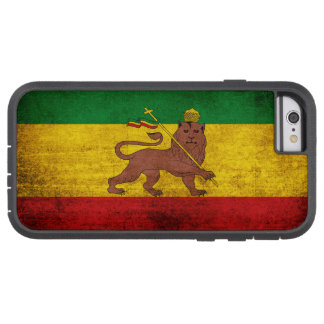 Vintage Grunge Rastafarian Flag Tough Xtreme iPhone 6 Case