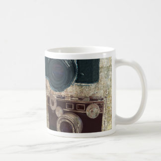 Vintage Grunge Retro Cameras Fashion Coffee Mug