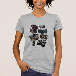 Vintage Grunge Retro Cameras Fashion Tshirt