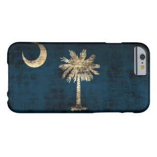 Vintage Grunge South Carolina Flag Barely There iPhone 6 Case