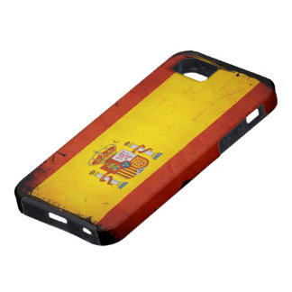Vintage Grunge Spain Flag iPhone SE/5/5s Case