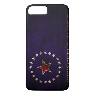 Vintage Grunge Springfield Illinois Flag iPhone 8 Plus/7 Plus Case
