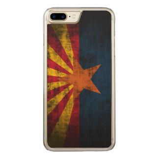 Vintage Grunge State Flag of Arizona Carved iPhone 7 Plus Case