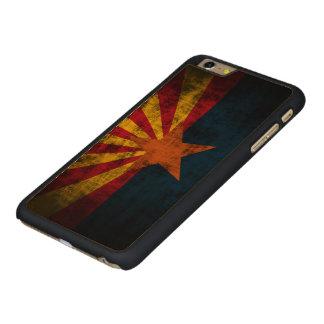 Vintage Grunge State Flag of Arizona Carved® Maple iPhone 6 Plus Case