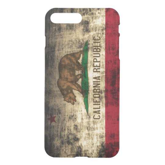 Vintage Grunge State Flag Of California Republic IPhone 8 Plus 7 Case