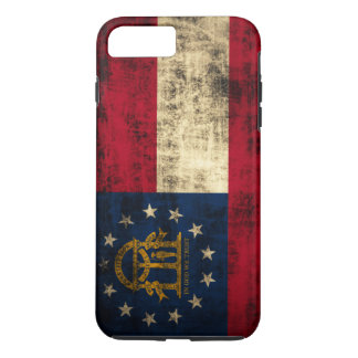 Vintage Grunge State Flag of Georgia iPhone 7 Plus Case