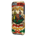 Vintage Grunge State Flag of West Virginia Tough iPhone 6 Case