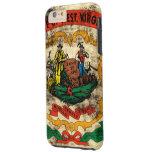 Vintage Grunge State Flag of West Virginia Tough iPhone 6 Plus Case