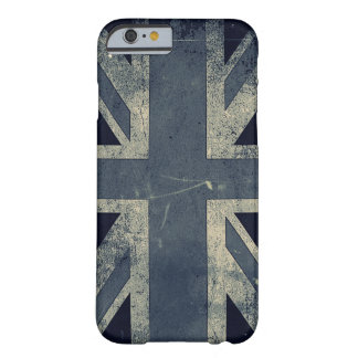 Vintage Grunge UK Flag Barely There iPhone 6 Case