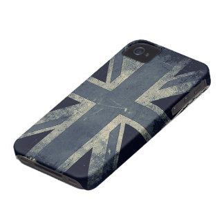 Vintage Grunge UK Flag iPhone 4 Cover