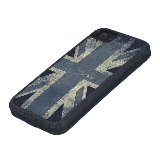 Vintage Grunge UK Flag iPhone 5 Cover