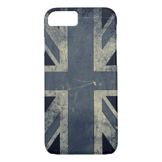 Vintage Grunge UK Flag iPhone 8/7 Case