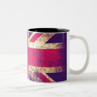 Vintage Grunge UK Flag Mug