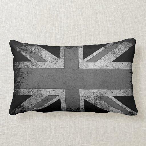 Vintage Grunge UK Flag Pillow