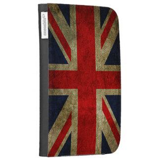 Vintage Grunge UK Union Jack Flag Kindle 3 Cover