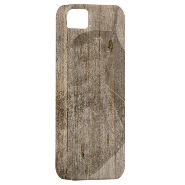 Vintage grunge wood textures iPhone SE/5/5s case