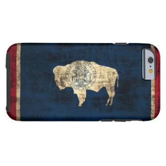 Vintage Grunge Wyoming State Flag Tough iPhone 6 Case