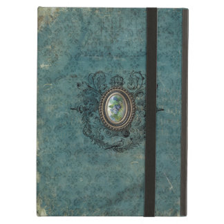 Vintage Grungy Damask iPad Air Cover