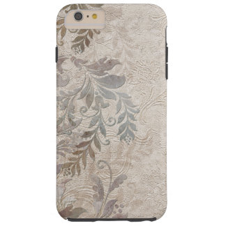 Vintage Grungy Embossed Foliage Tough iPhone 6 Plus Case