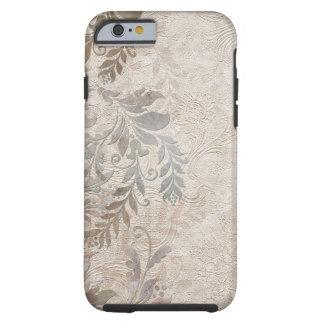 Vintage Grungy Foliage Tough iPhone 6 Case