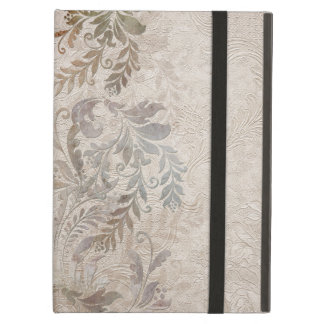 Vintage Grungy Foliage Cover For iPad Air