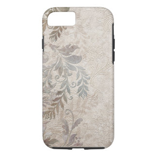 Vintage Grungy Foliage iPhone 7 Case