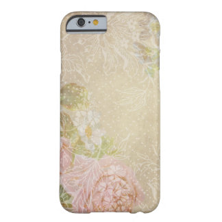 Vintage Grungy Roses Barely There iPhone 6 Case